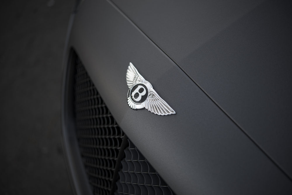 Bentley logo/grill clean