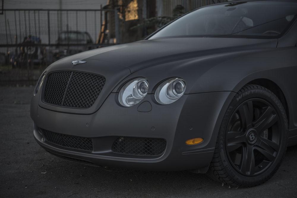Bentley wrap grill