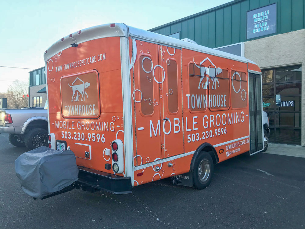 town house mobile grooming Project