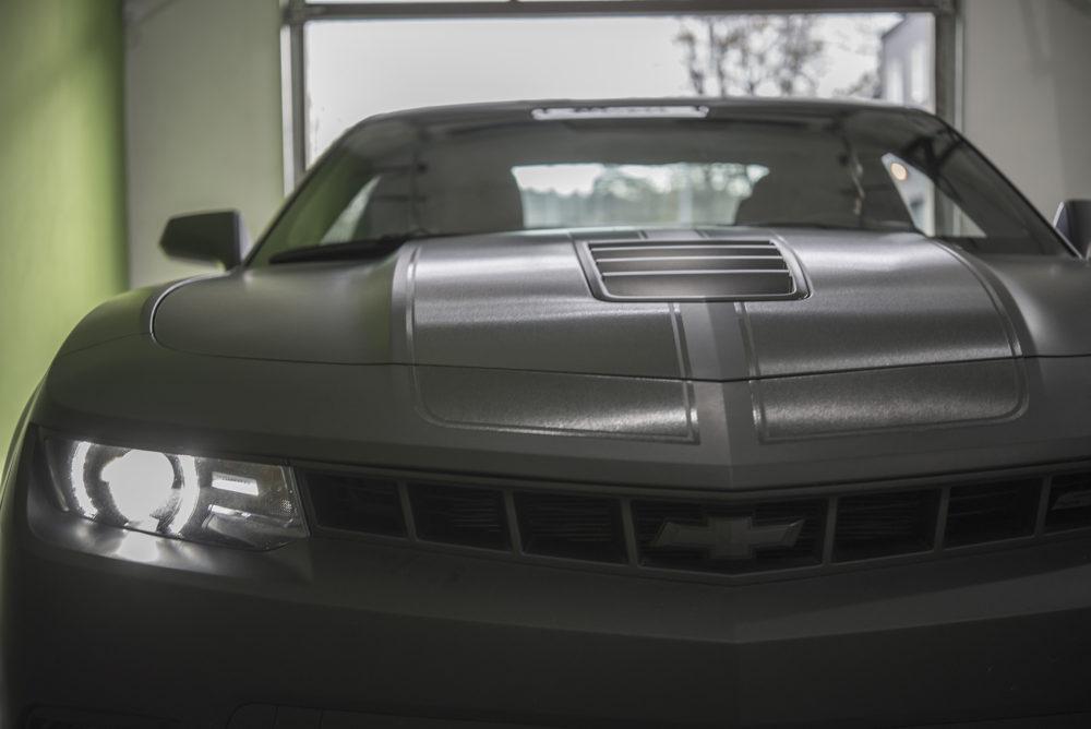 headlights matte