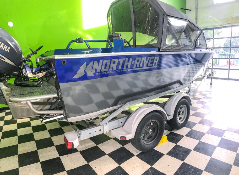 north river boat Portland custom wraps