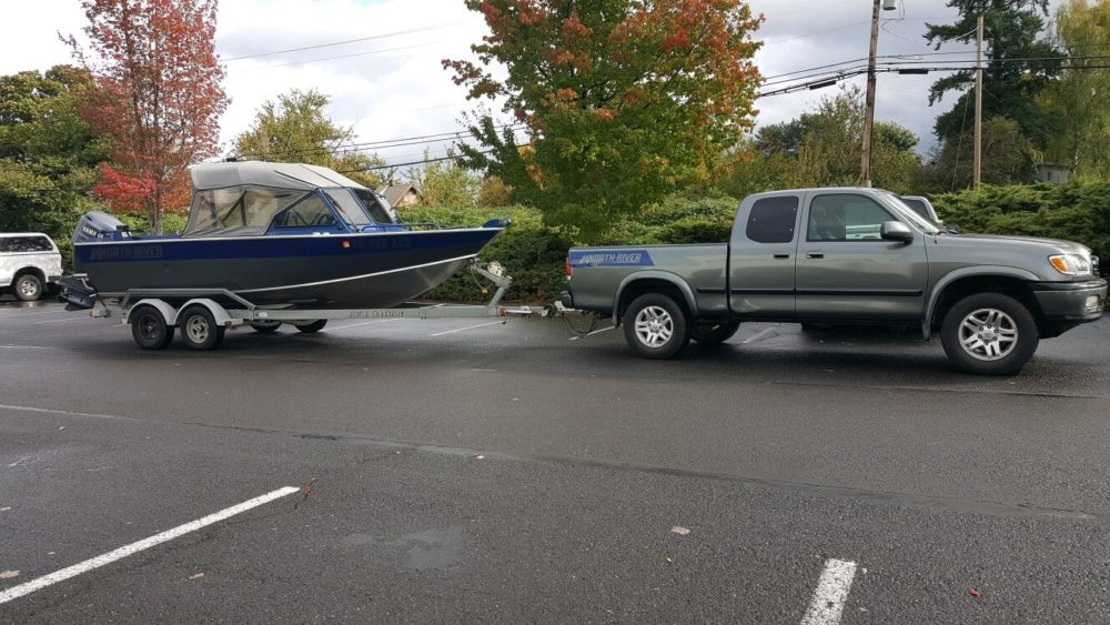 boat and truck wrapping