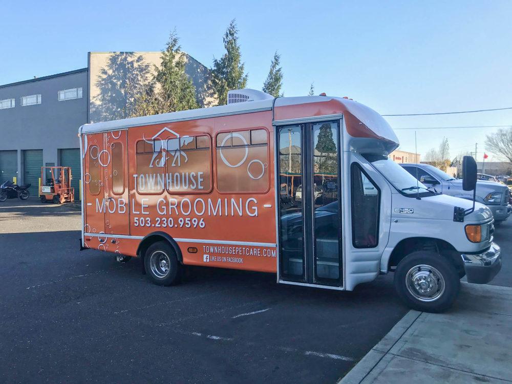Custom Van & Bus Branding