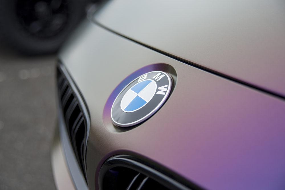BMW Logo Oil Slick
