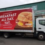 mobile marketing with vinyl wraps